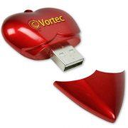 valentine-heart-shaped usb drive