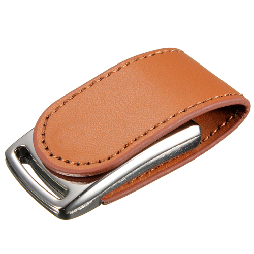 Leather-Metal-Silver-USB