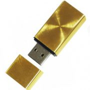 Gold-Iron-Square-USB-Flash-Drive