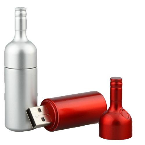 Wine shape usb drive
