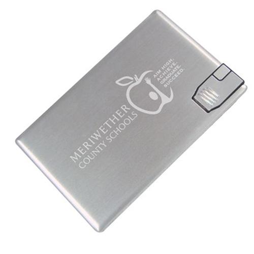 Metal credit card usb
