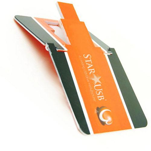 Folding Credit Card USB Flash Drives China Factory