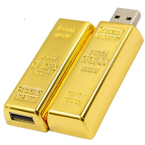 Kingstick-gold-bar-usb-flash-drive-8gb-16gb-32gb-64gb-memory-USB-stick-usb-2-0