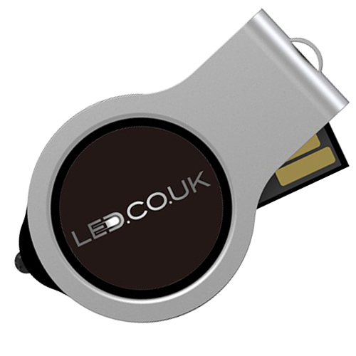 Reisn logo with LED light USB drive
