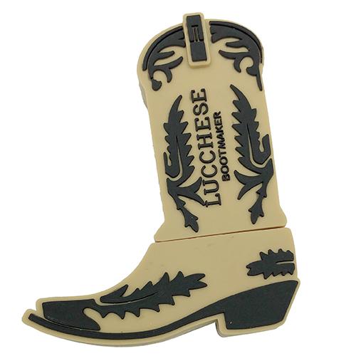 Boot shape PVC usb